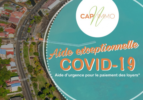 CAP'Immo - Aide exceptionnelle COVID-19